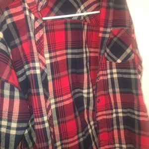 Forever21 Plaid Flannel